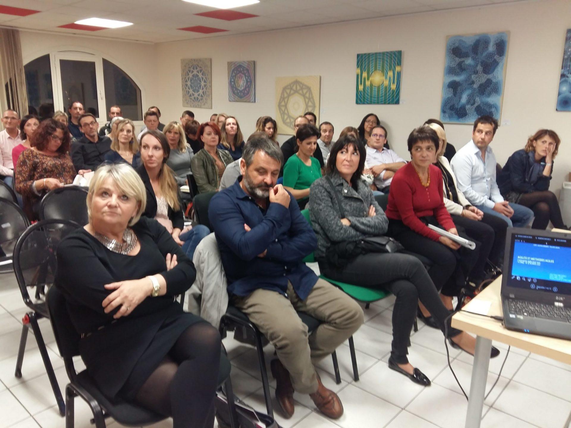 19/10/2017 – Soirée Entreprise Agile pour tous – Réseaux Connexion / Talents Féminins des Savoie/ MUG