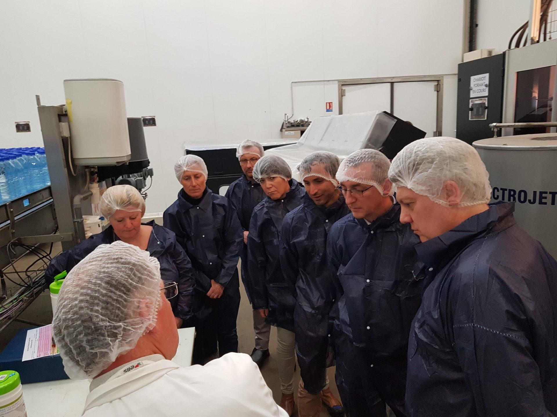 26/03/19 : visite de 2 sites de production agroalimentaire à Aix-les-Bains